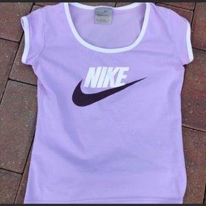 Vintage Nike Purple T-Shirt XS